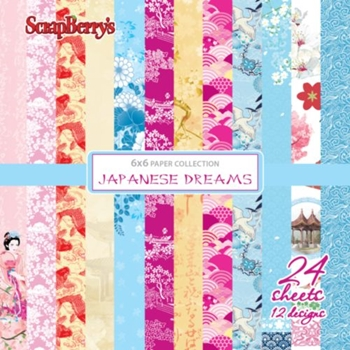 ScrapBerry's JAPANESE DREAMS 6x6 Paper Pack 219427