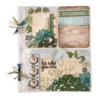 Sizzix JOURNALING CARDS Thinlits Die Set 661969