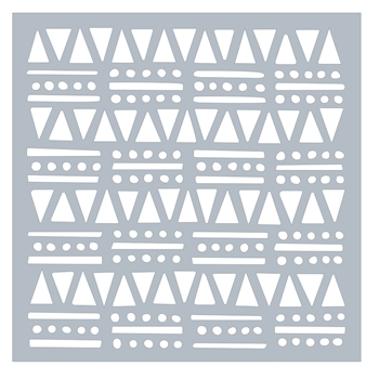 Hero Arts Stencil TRIBAL SHAPES SA106
