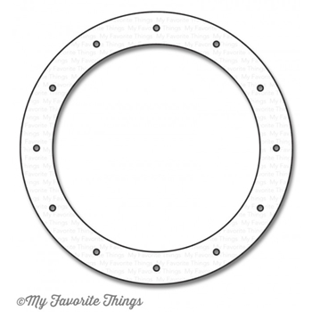 My Favorite Things OCEAN VIEW PORTHOLE Die-Namics MFT1116