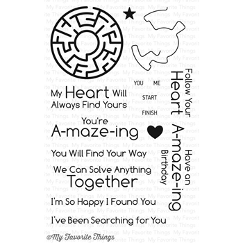 My Favorite Things YOU'RE A-MAZE-ING Clear Stamps LLD53