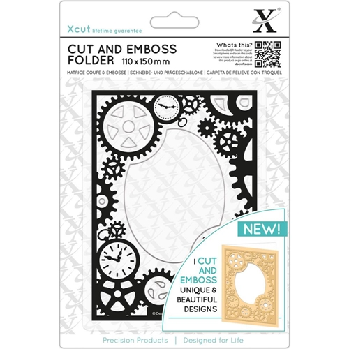 DoCrafts STEAMPUNK COG XCut Cut & Emboss Folder XC503812 Preview Image