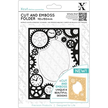 DoCrafts STEAMPUNK COG XCut Cut & Emboss Folder XC503812