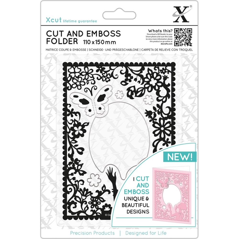 DoCrafts ELEGANT LADY XCut Cut & Emboss Folder XC503814 zoom image