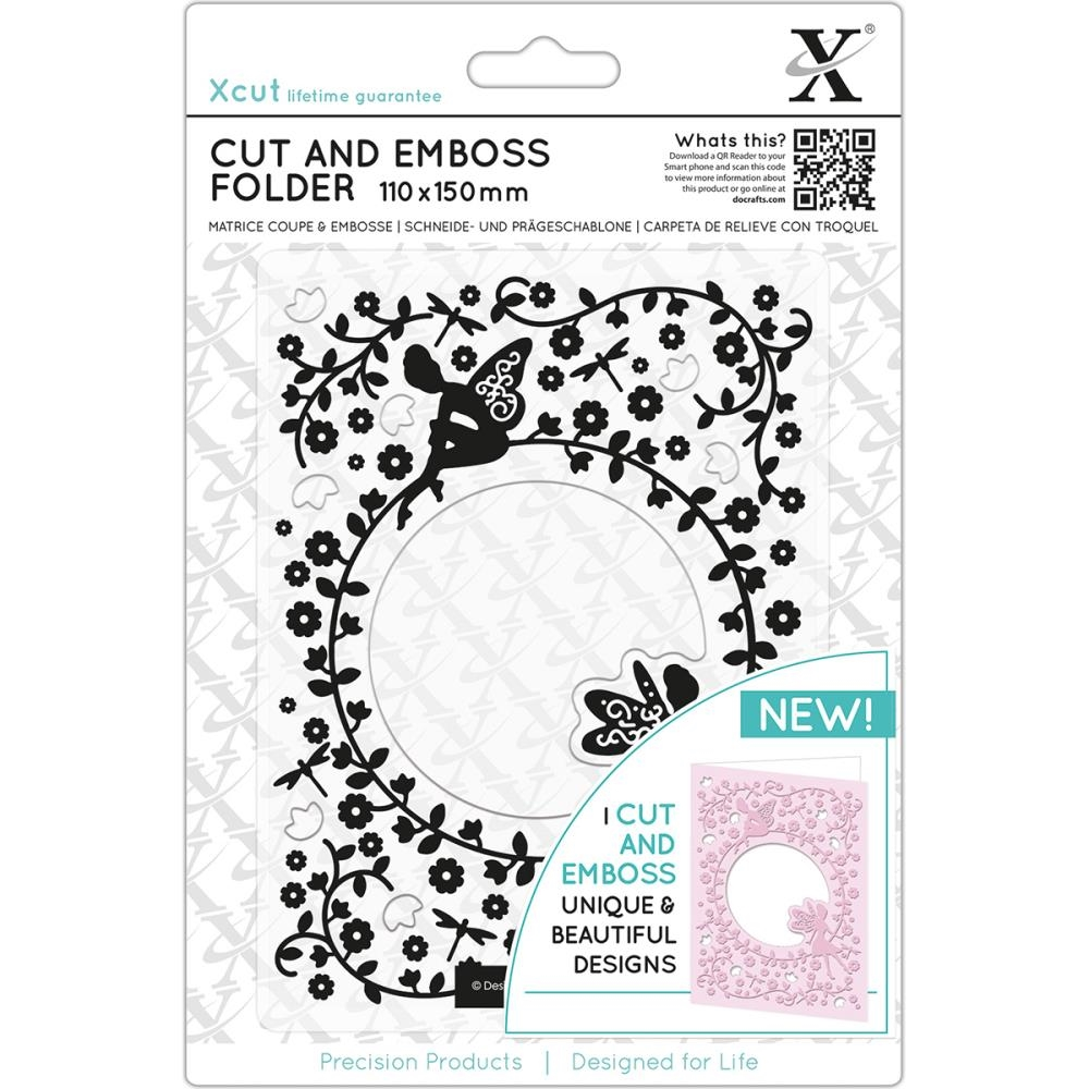 DoCrafts FLOWER FAIRIES XCut Cut & Emboss Folder XC503813 zoom image