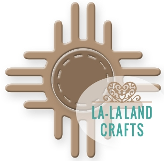 La-La Land Crafts SOUTHWESTERN SUN Die Set 8316