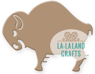 La-La Land Crafts BISON Die Set 8314