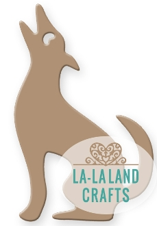 La-La Land Crafts COYOTE Die Set 8313