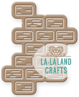 La-La Land Crafts BRICKS Die Set 8308
