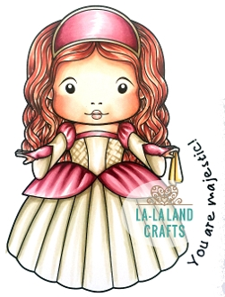 La-La Land Crafts Cling Stamp RENAISSANCE MARCI Set 5346