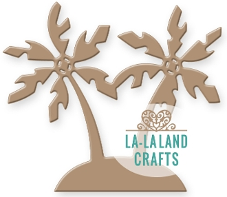 La-La Land Crafts ISLAND Die Set 8309