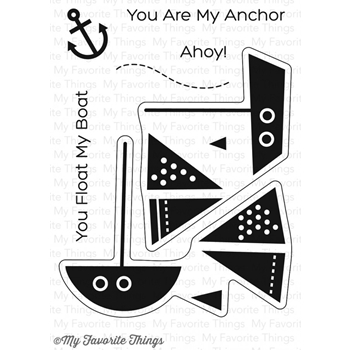 My Favorite Things YOU FLOAT MY BOAT Clear Stamps CS205
