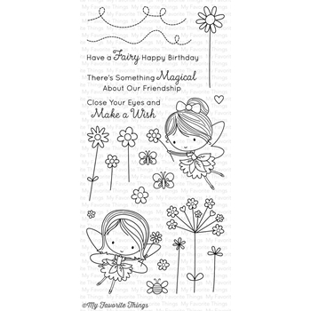My Favorite Things FAIRY HAPPY Clear Stamps CS206