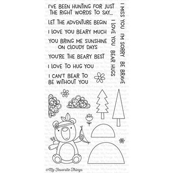 My Favorite Things BEARY BIG ADVENTURE Clear Stamps CS187