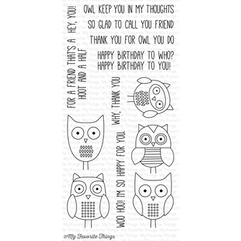 My Favorite Things FOR OWL YOU DO Clear Stamps CS190