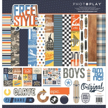 PhotoPlay FREESTYLE 12 x 12 Collection Pack FR2840