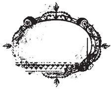 Tim Holtz Rubber Stamp WEATHERED FRAME Stampers Anonymous V1-1161 Preview Image