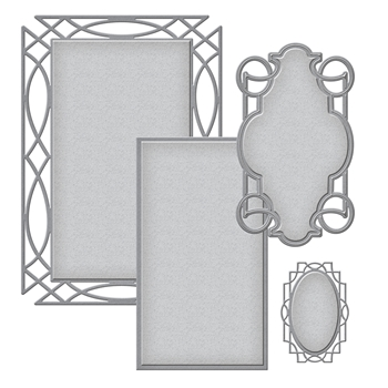 S5-306 Spellbinders INTERTWINED Etched Dies