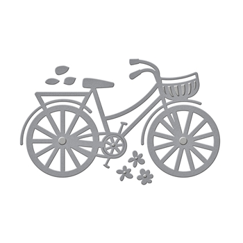 S3-282 Spellbinders BICYCLE Etched Dies