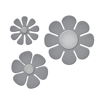 S2-269 Spellbinders FLOWER POWER Etched Dies