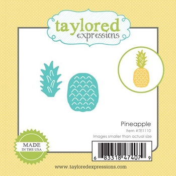 Taylored Expressions Little Bits PINEAPPLE Die Set TE1110