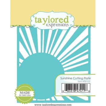 Taylored Expressions SUNSHINE Cutting Plate Die TE1117