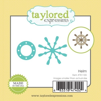 Taylored Expressions Little Bits HELM Die Set TE1105