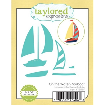 Taylored Expressions On The Water SAILBOAT Die Set TE1107