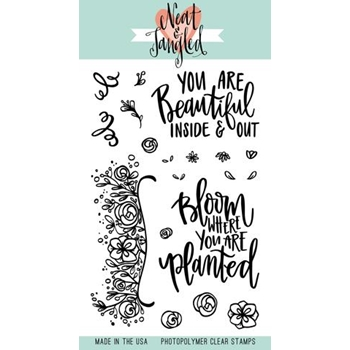 Neat and Tangled BLOOM Clear Stamp Set