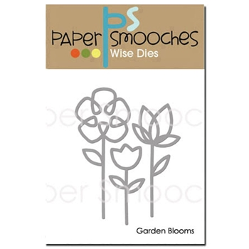 Paper Smooches GARDEN BLOOMS Wise DIes J2D389