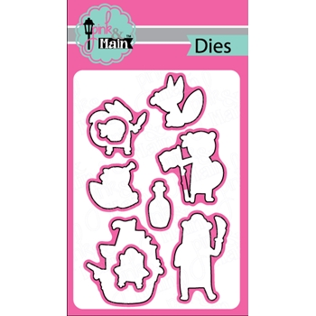 Pink and Main PIRATE CRITTERS Die Set 023051