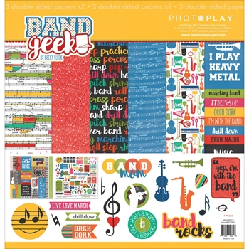 PhotoPlay BAND GEEK 12 x 12 Collection Pack BG2862