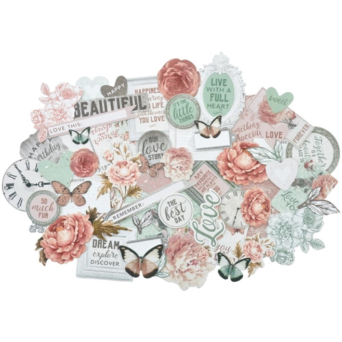 Kaisercraft SAGE AND GRACE Collectables Die Cut Shapes CT881 Preview Image