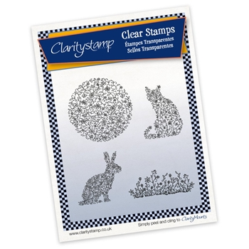 Claritystamp FLORAL FIGURES Clear Stamps STAFL10473A5