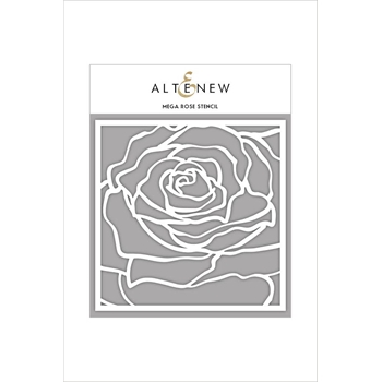 Altenew MEGA ROSE Stencil