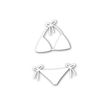 Simon Says Stamp BIKINI Wafer Dies SSSD111740
