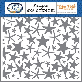 Echo Park STARFISH FUN 6 x 6 Stencil US131036