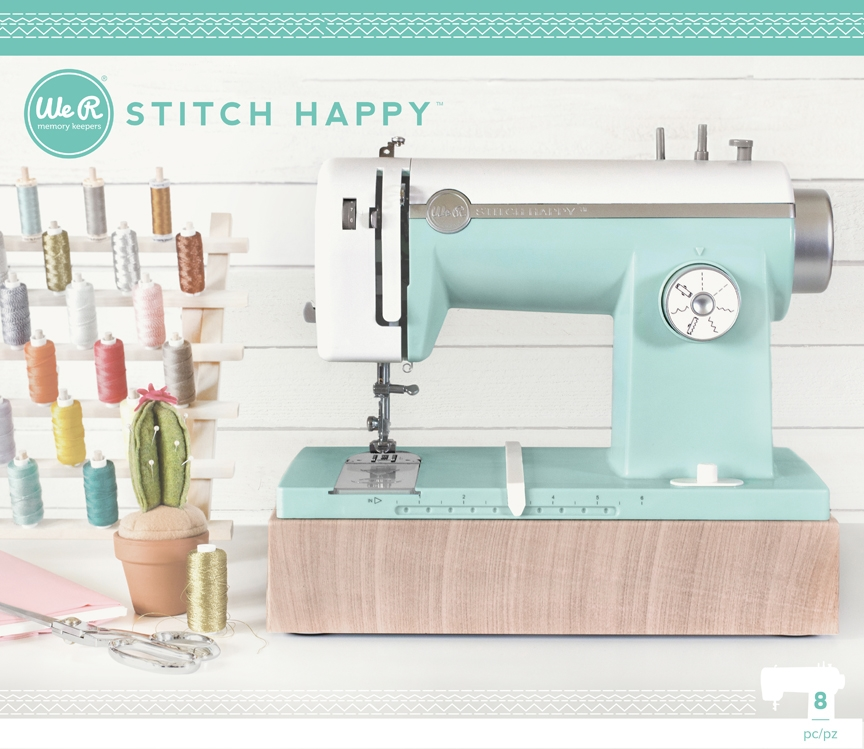We R Memory Keepers STITCH HAPPY MULTIMEDIA SEWING MACHINE MINT 663128 zoom image