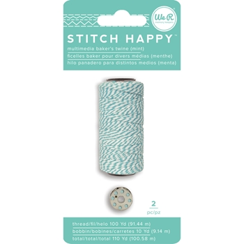 We R Memory Keepers STITCH HAPPY BAKERS TWINE MINT 663031