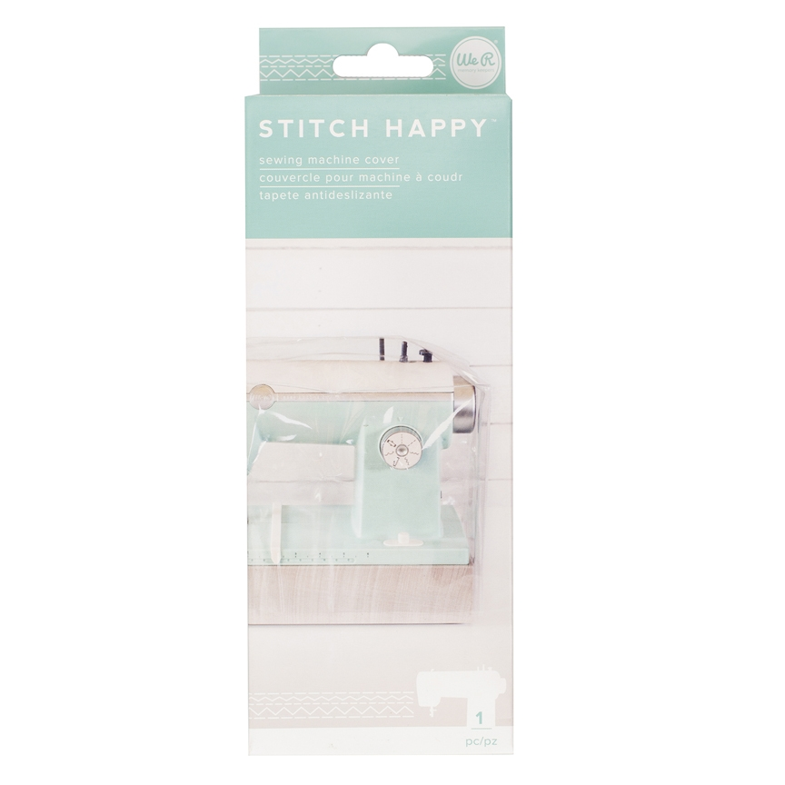 We R Memory Keepers STITCH HAPPY SEWING MACHINE COVER 660396 zoom image
