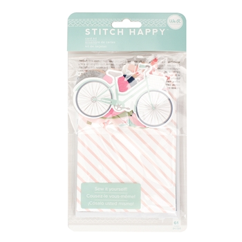 We R Memory Keepers STITCH HAPPY CARD KIT 660367