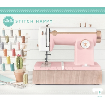 We R Memory Keepers STITCH HAPPY MULTIMEDIA SEWING MACHINE PINK 663036