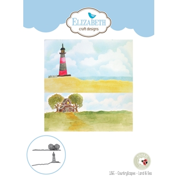 Elizabeth Craft Designs COUNTRYSCAPES LAND AND SEA Die 1365
