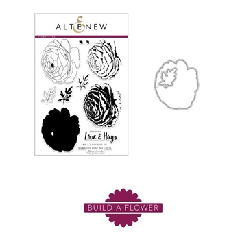 RESERVE Altenew BUILD A FLOWER RANUNCULUS Clear Stamp Set
