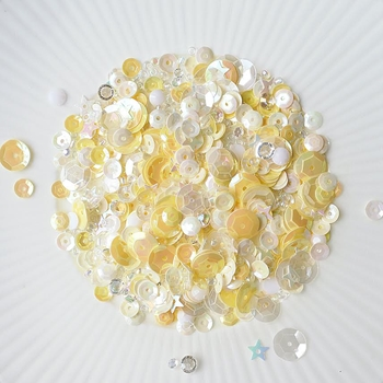 Little Things From Lucy's Cards NARCISSUS Sequin Shaker Mix LB139