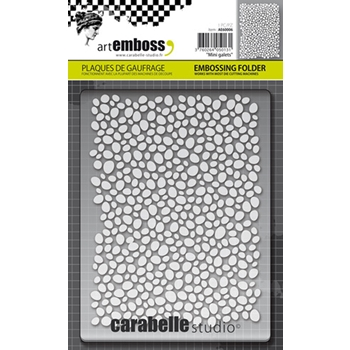 Carabelle Studio MINI GALETS Embossing Folder AE60006