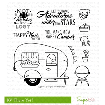 SugarPea Designs RV THERE YET? Clear Stamp Set SPD-00214