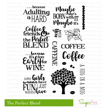 SugarPea Designs THE PERFECT BLEND Clear Stamp Set SPD-00208
