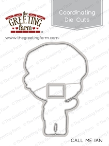 The Greeting Farm CALL ME IAN Coordinating Die Cut TGF327