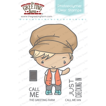 The Greeting Farm CALL ME IAN Clear Stamps TGF326